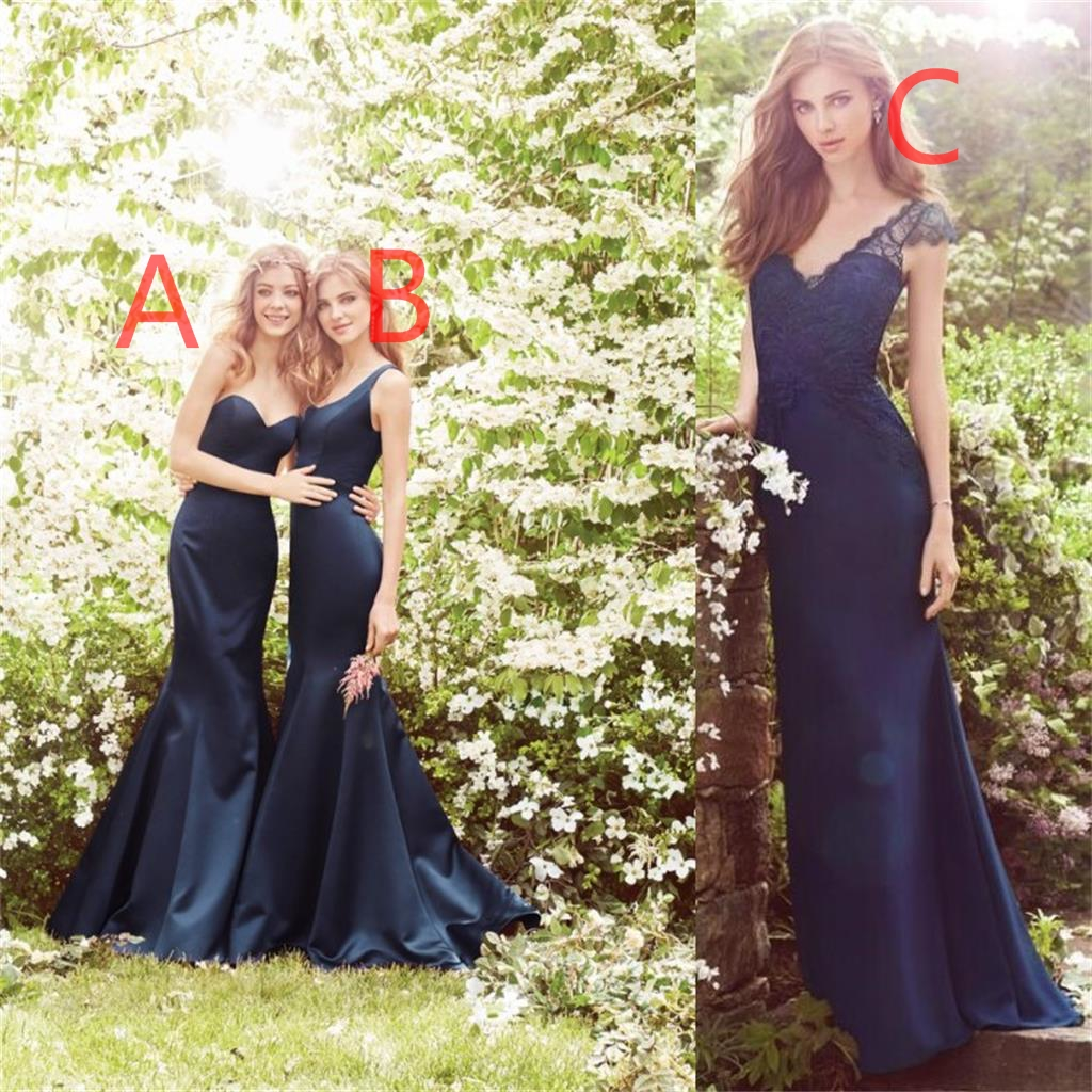 Special Occasion Prom Dress Fashion Bridesmaid Dress Navy Blue Bridesmaid Dress Popular Bridesmaid Dresses Dresses For Wedding Bd17610 From