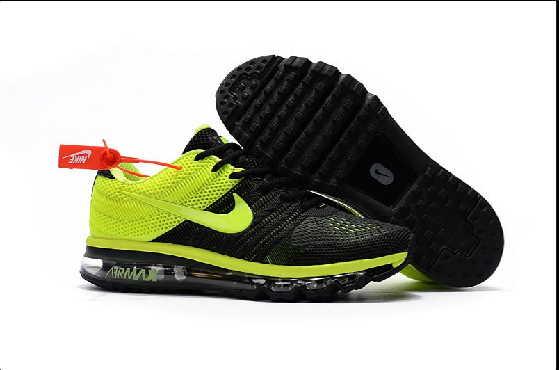 Nike Air Max 2017 Kpu Mens Running Shoes Sneakers Trainers Black Green