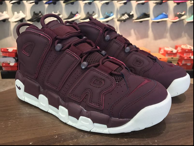 Nike Air More Uptempo Night Maroon-sail 2017 For Sale
