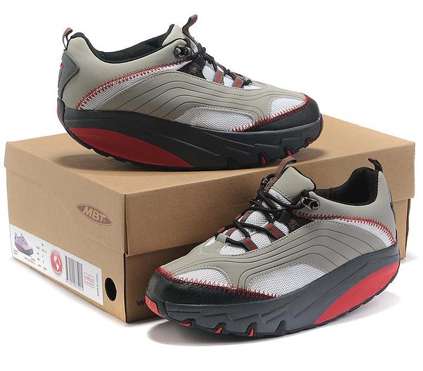 Mbt Chapa Women Shoes Grey