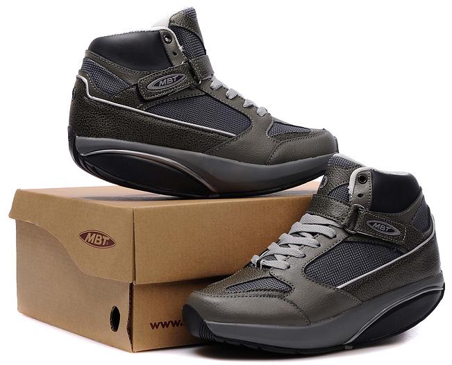 Mbt Moja Mid Caviar Army Men Shoes Green