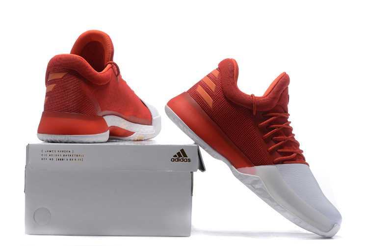 be37f6f8c45 ... Fashion Adidas Harden Vol.1 Basketball Shoes Red white Men s Sport  Shoes BW0545 - Thumbnail ...