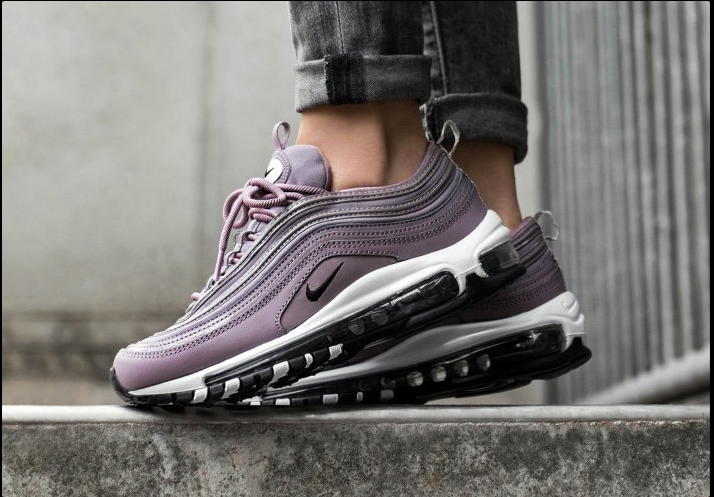 Nike Air Max 97 Taupe Grey Black-light Bone For Sale Mens Shoes New In Box