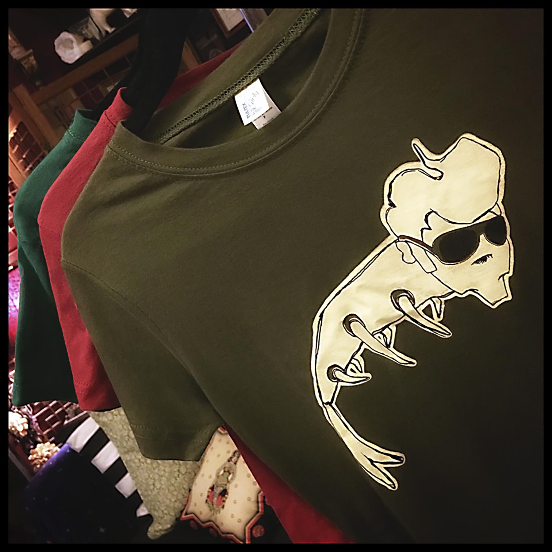Dustin E.\'s Original Art T-shirt--Elvis Shrimp (Women\'s) on Storenvy