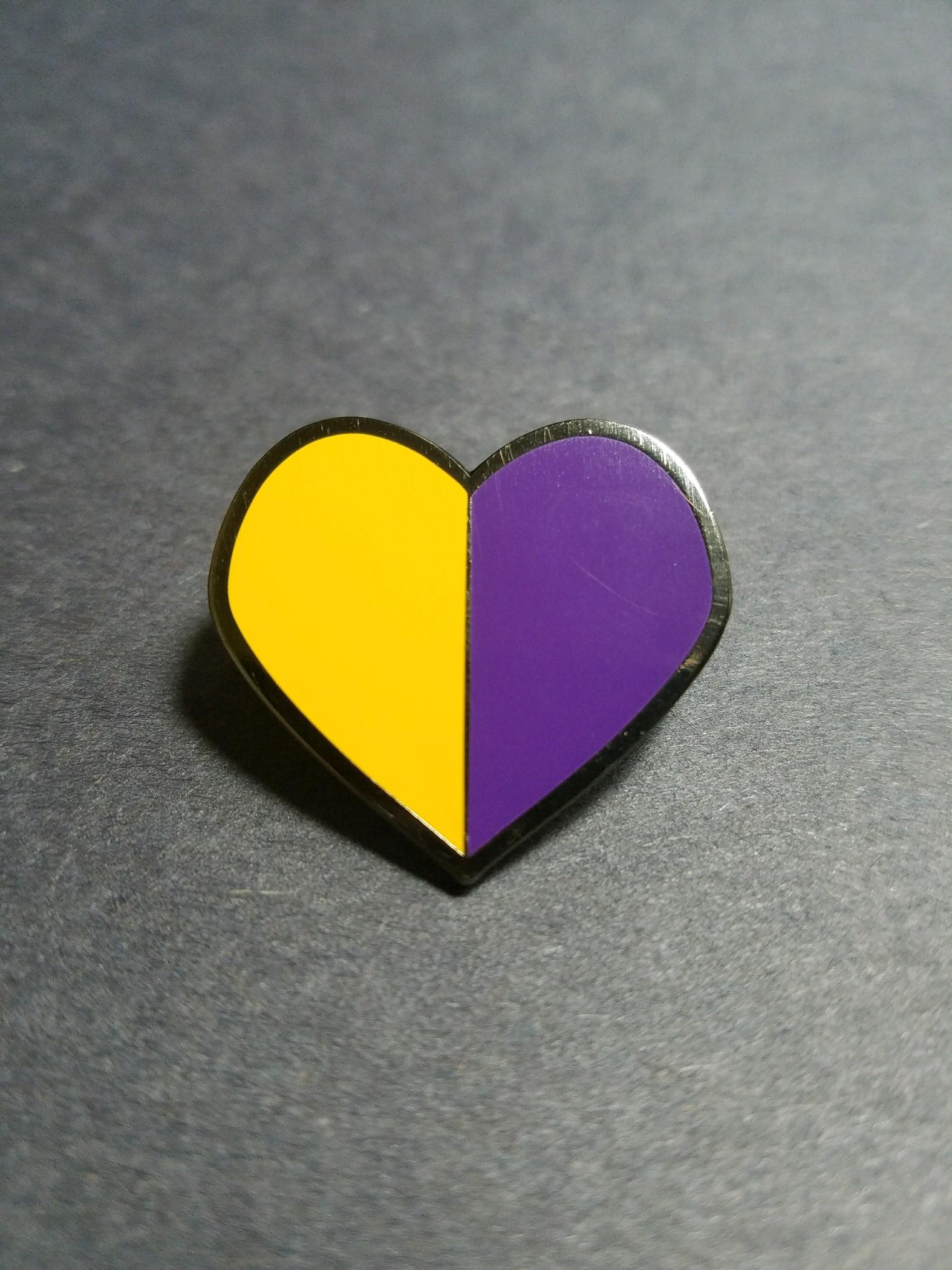 Image of Heart - Pin