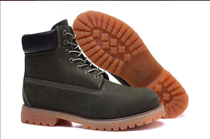 Mens Timberland Classic Shoes Blackgreen