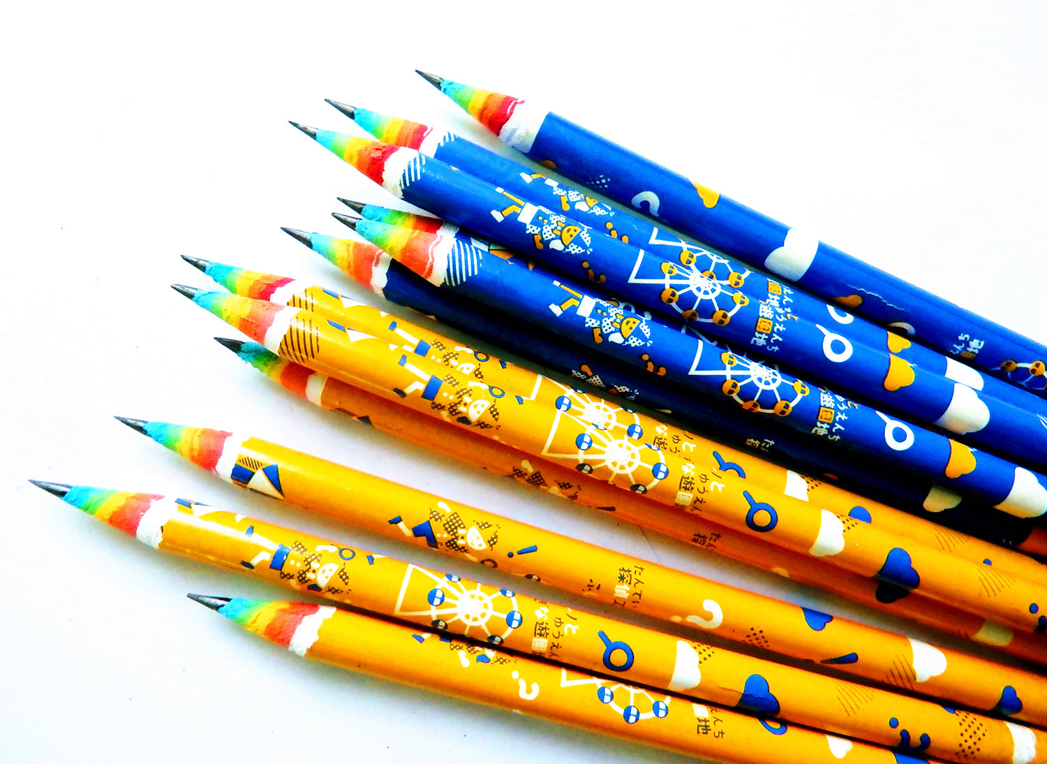 Image result for rainbow pencils