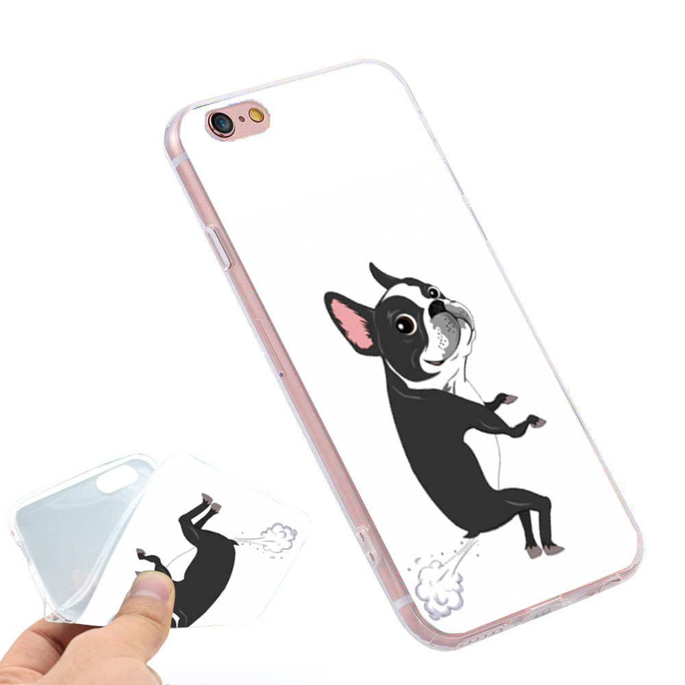sports shoes 57566 64e69 Boston Terrier Dog Puppies Phone Case Cover for iPhone X 5S 6 6S 7 8 plus  #SJK9000007TM