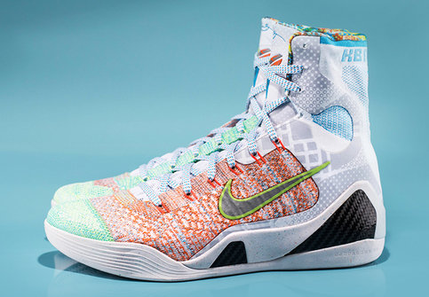 new style a0237 35367 ... hot nike what the kobe 9 ix elite color multi color chlorine blue black  style code