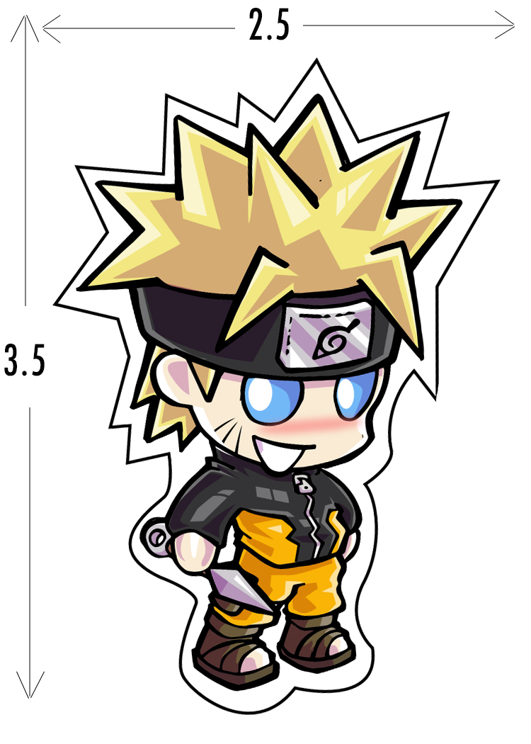Naruto sticker