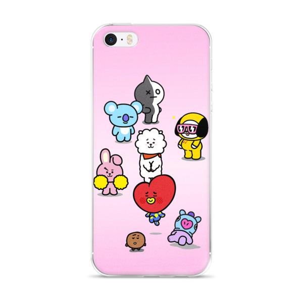 low priced 21602 a01d6 ★ BTS BT21 iPhone Case