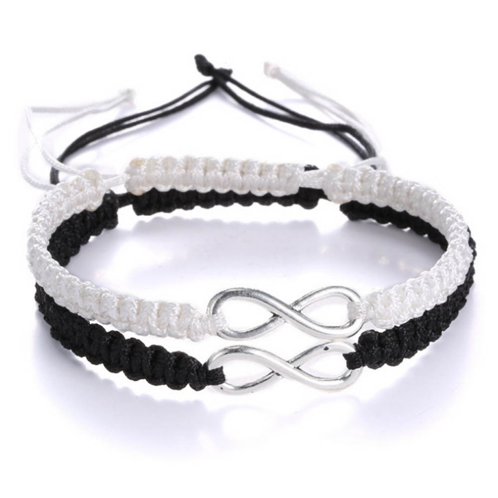 45257654d707f 2pcs/set handmade infinity Bracelet Friendship Bracelet Lovers Bracelet  Couple Bracelet Fashion jewelry Gift