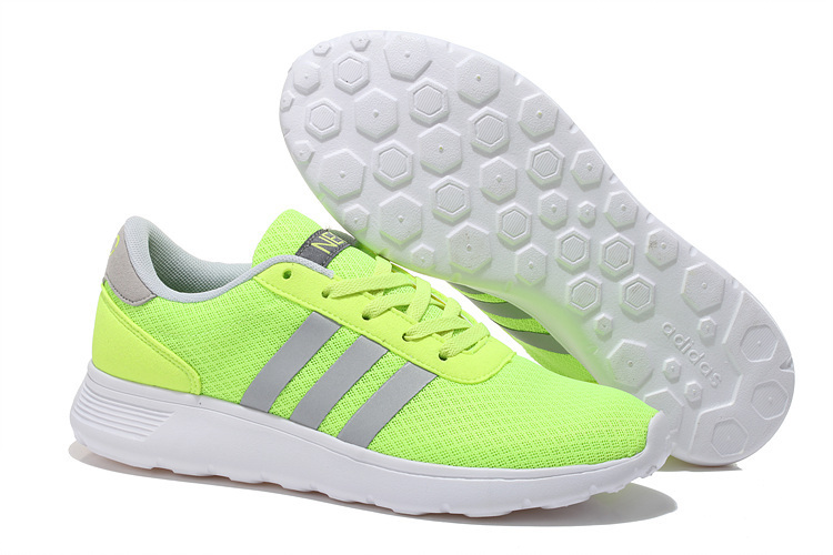 Mens/womens Neo Lite Racer Shoes Apple Green/silver F76396