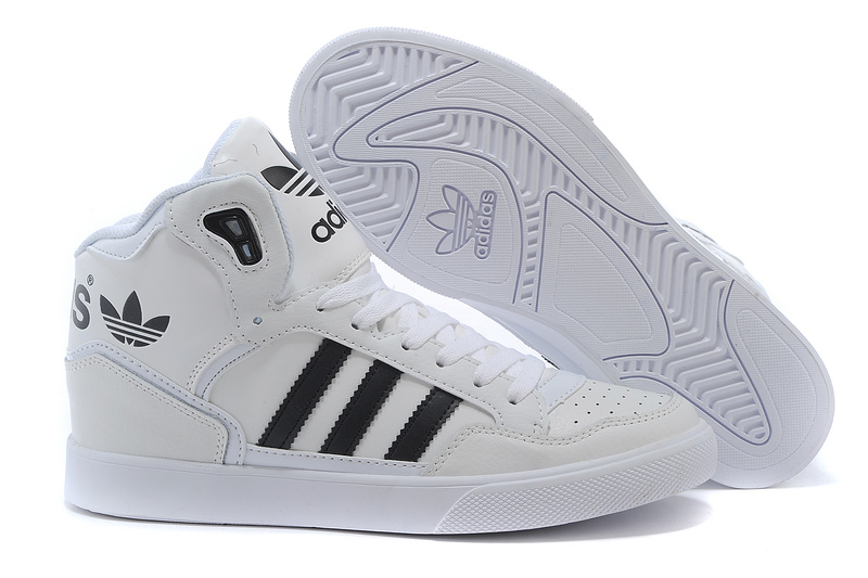 Mens/womens Originals Extaball High Top Leather Basketball Shoes White/black M20864