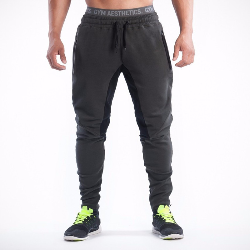 Mens Joggers Male Fitness Casual Fashion Pants Joggers Sweatpants
