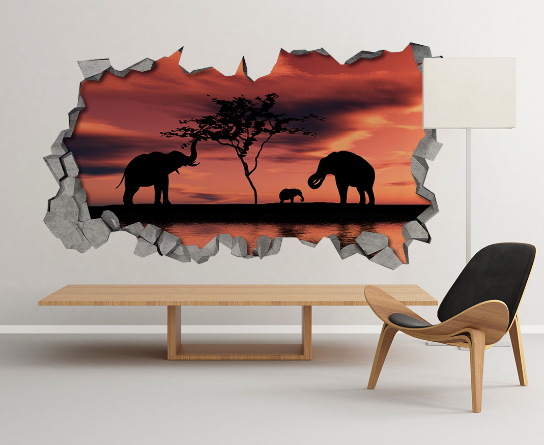 broken wall decal 3d wallpaper 3d wall decals 3d printed 3d