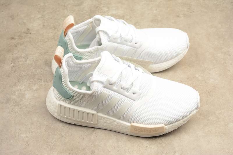 9a0e126ab7e41 Adidas NMD Boost R1 mint white runner shoes BY3033 · Toms · Online ...
