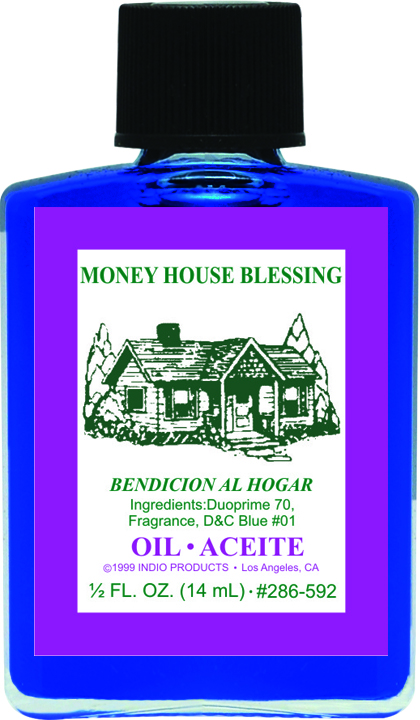 Spiritual Magical Oil 0 5 oz - Money House Blessing