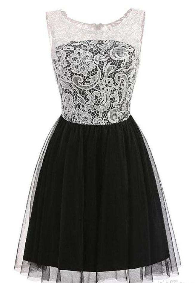 2ced2b23af Lace Short Homecoming Dress