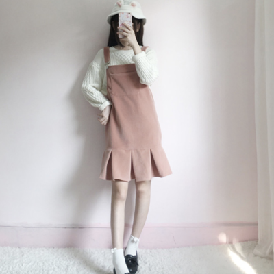 0607f782ce Frilly overalls dress