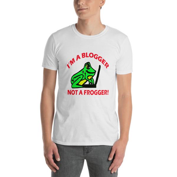Image of Blogger Short-Sleeve Unisex T-Shirt