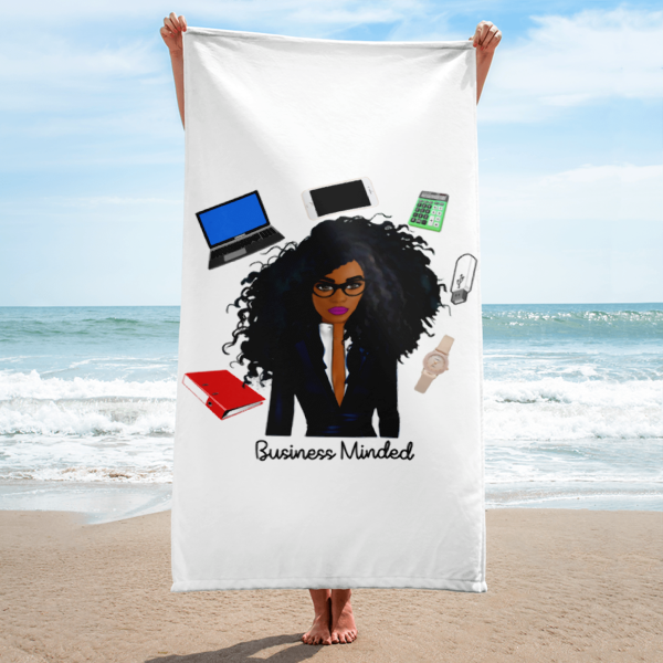 Image of Business Minded Beach Towel