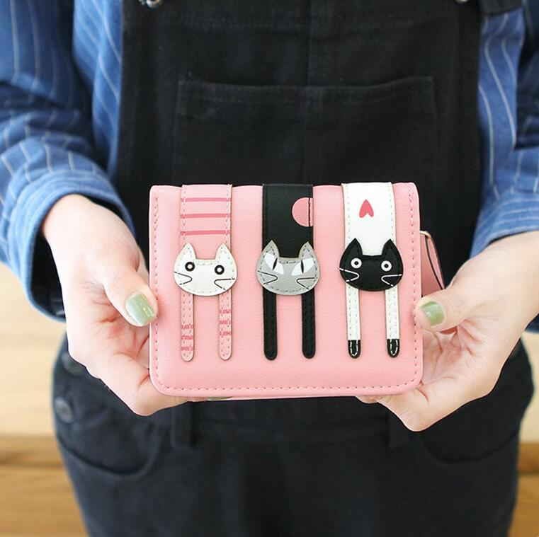 Harajuku cute cat wallet purse (84586785 weiweishop) photo