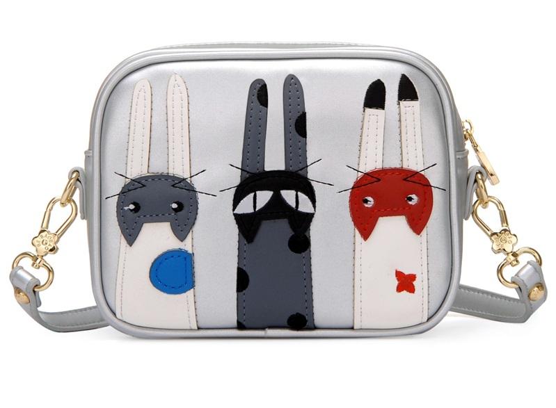 Mini metallic 3 cats purse (84805764) photo