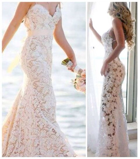 c38372f01ba 2018 Sexy Beach Wedding Dress
