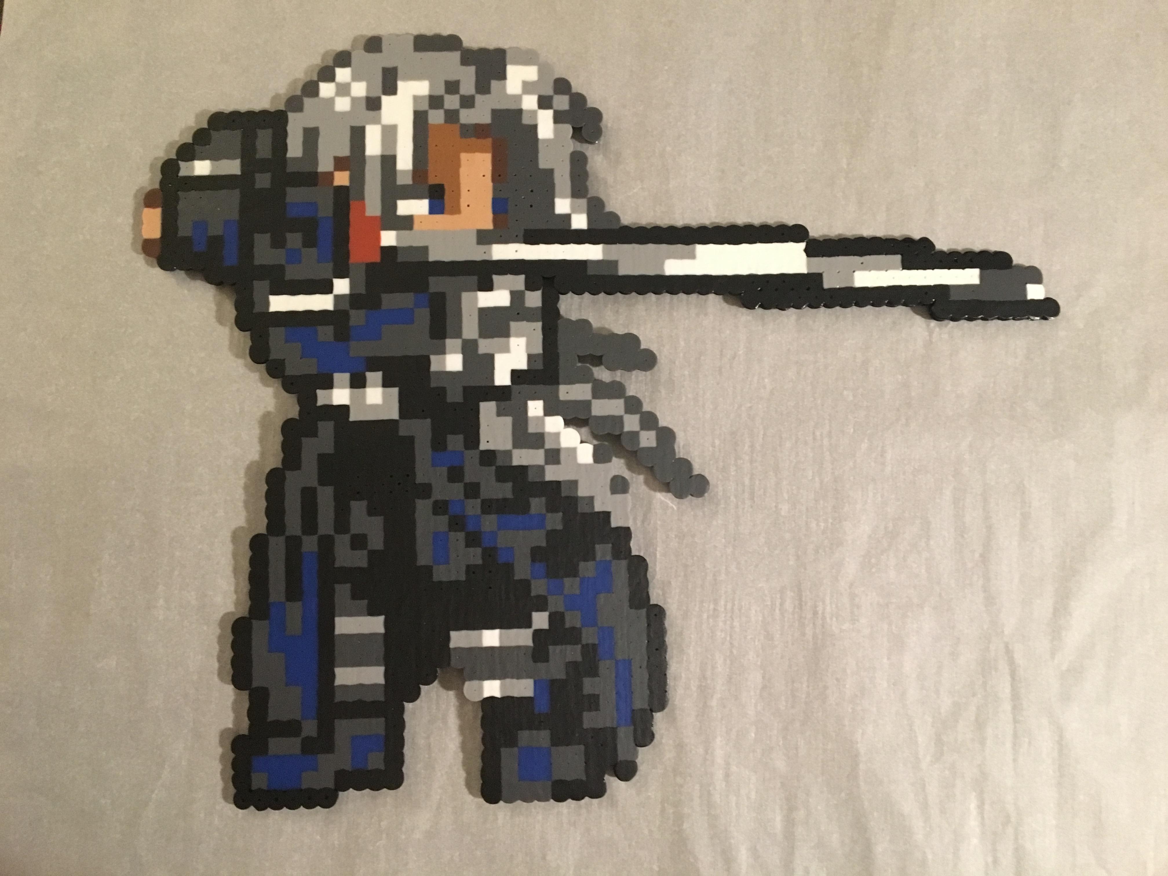 Sephiroth Final Fantasy Vii Perler