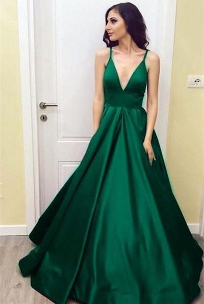 Emerald Green Ball Dresses