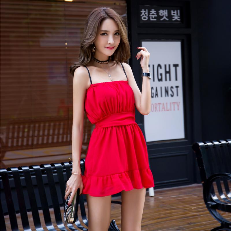 08393a339142 Bra strapless halter red dress (84990435 cutexzp) photo