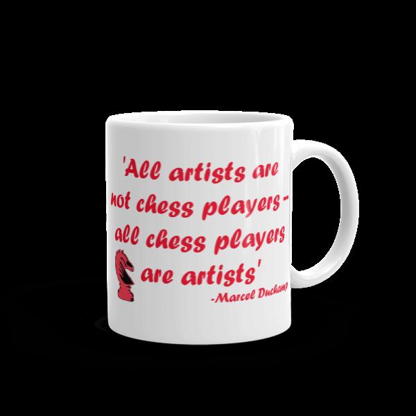 Image of All Chess Players are Artists Mug