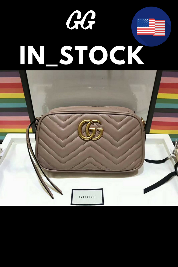f2268bdf05c7 GUCCI GG MARMONT MINI QUILTED LEATHER CROSS-BODY BAG · Wanna this ...