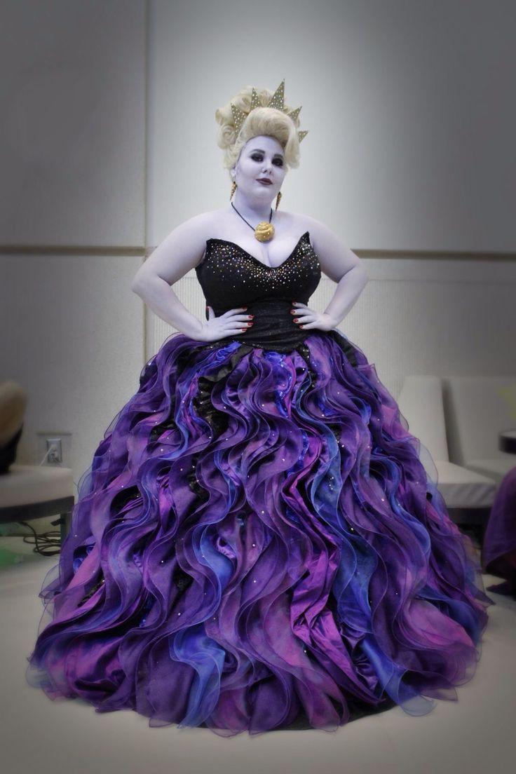 File 5886a4f031 original  sc 1 st  Storenvy & Ursula Costume from Little Mermaid Plus Size Ursula Costume Cosplay ...