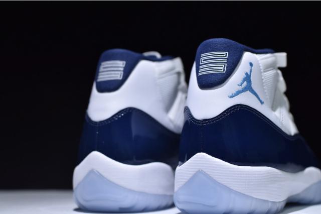 d1719a8fa4c7 Nike Air Jordan 11 Retro Midnight Navy 378037-123 Mens Basketball Shoes