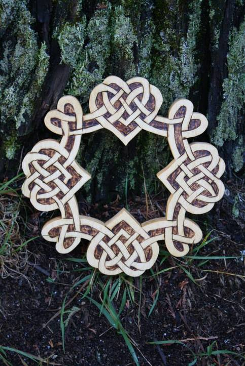 Celtic Four Heart Knots On Storenvy