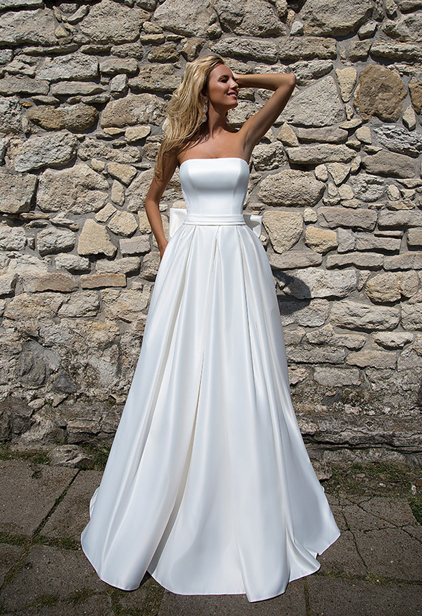 Big Wedding Dresses with Bows