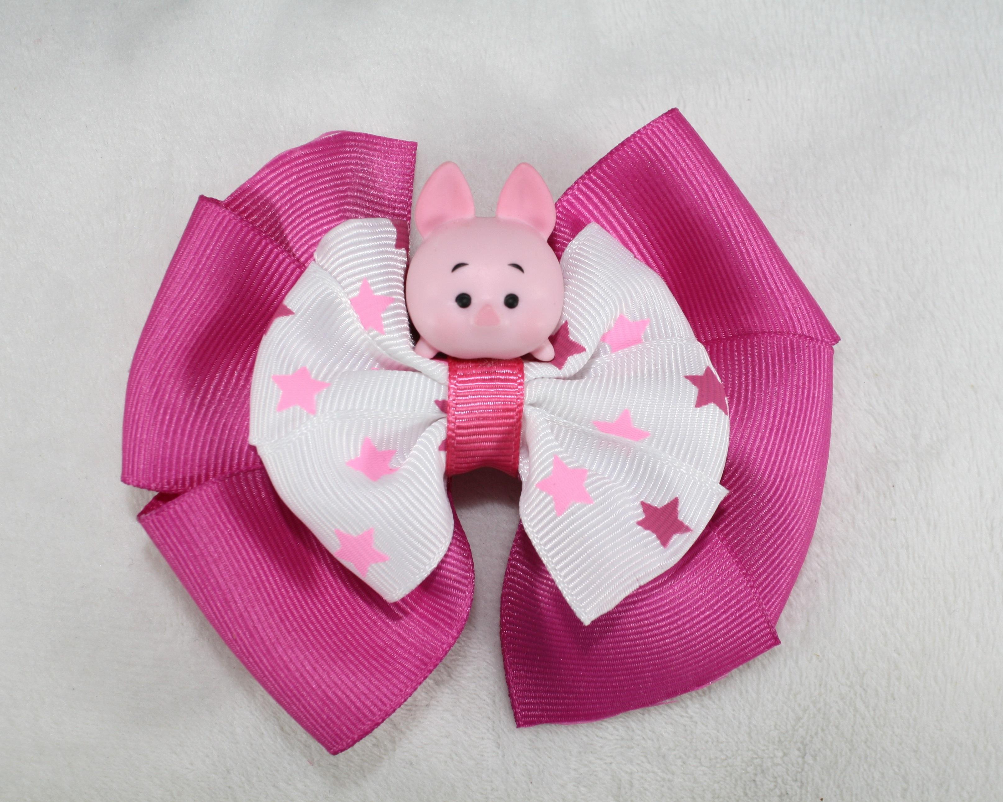 Disney Tsum Tsum Clipart 9: Disney Piglet Tsum Tsum Bow Clip On Storenvy