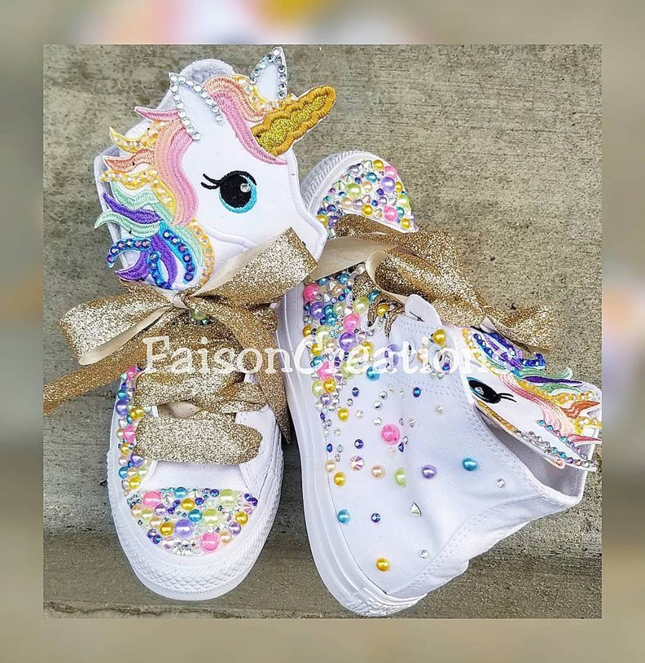 2f70dfb0f663 Custom Unicorn Converse · FaisonCreations · Online Store Powered by ...