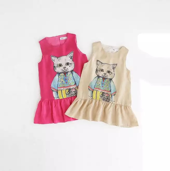 Cat Shift Dress