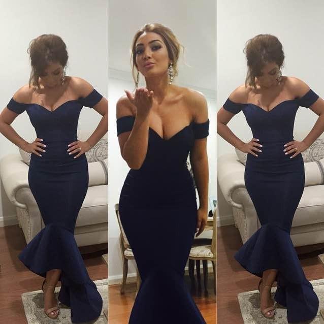 Long Shoulder Dress