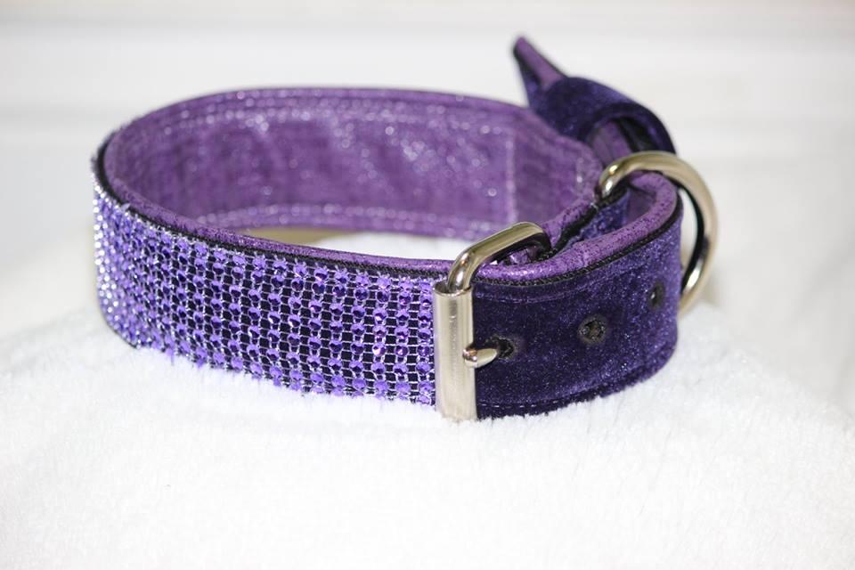 Rhinestone Flat-buckle Collar