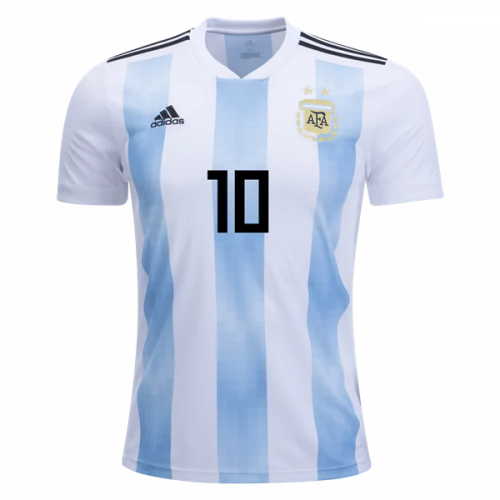 sale retailer 3ef78 dc293 New 2018 Lionel Messi 10 Home Soccer Jersey Football Shirt from  SportsWorld2016