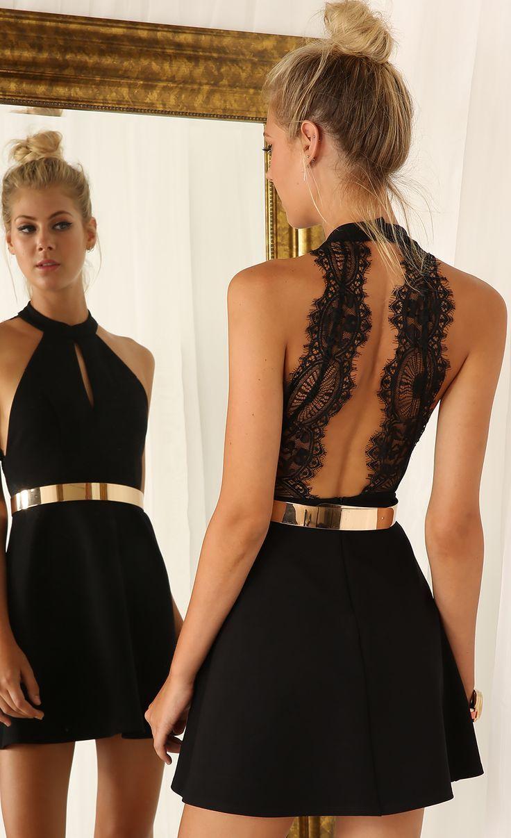 8b29ff1fd2f1 Summer Black Short Prom Dress Simple Halter Sexy Open Back Cheap Homecoming  Dresses