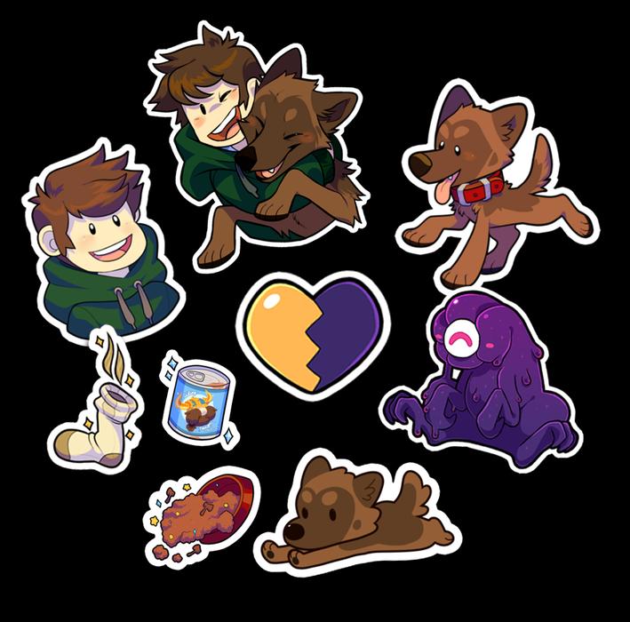Image of Heartbound - Sticker Pack
