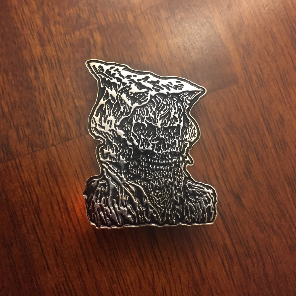 Cave Evil - Necromancer Pin from Wasteoid Wares