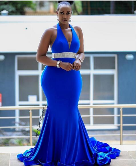 Plus_Size_Royal_Blue_Mermaid_Prom_Dresses_Backless_African_Girl_Black_Girl_Feathers_Evening_Formal_Gowns