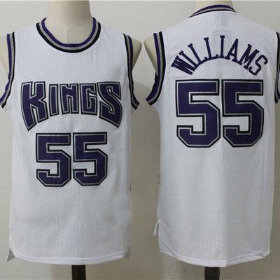 Mens sacramento kings  55 jason williams retro hardwood classics swingman  jersey e92948d0d