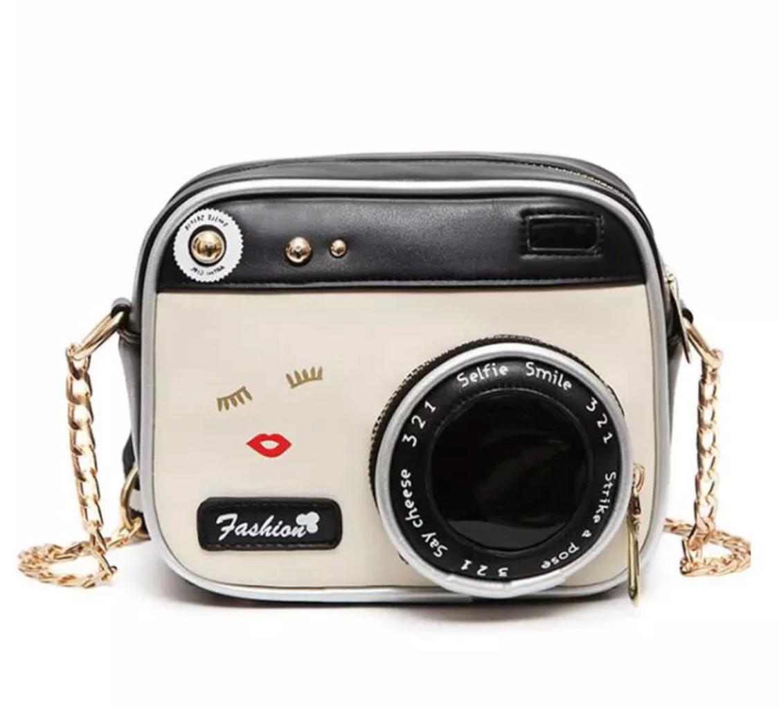 Retro Selfie Cam Crossbody Camera bag purse (88686912) photo